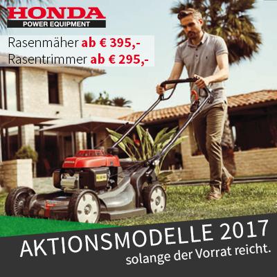 Honda Aktionsmodelle 2017