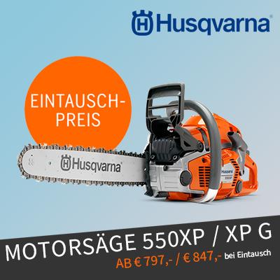 Husqvarna 550xp Eintauschpreis