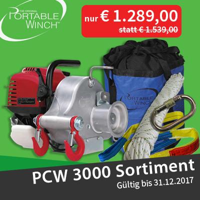 Portable Winch PCW3000 Aktion