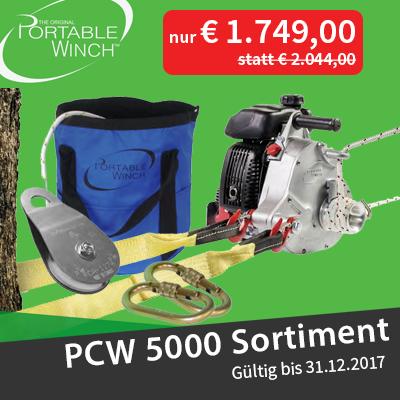 Portable Winch PCW5000 Aktion