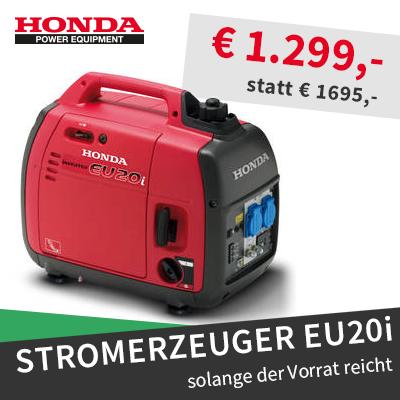 Honda Stromerzeuger Aktion