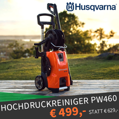 Husqvarna Angebot Hochdruckreiniger PW460