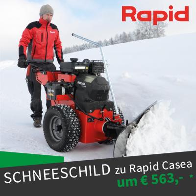 Rapid Casea Schneeschild Angebot Winteraktion