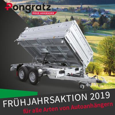 Pongratz Frühjahrsaktion 2019